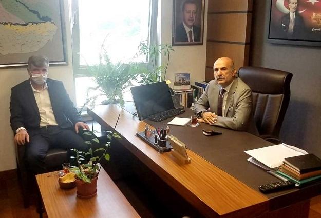 Başkan Özhan'dan Milletvekili Özdemir'e ziyaret