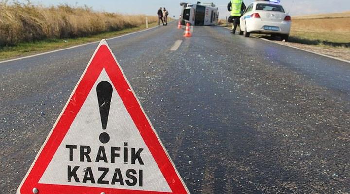 Kozluk yolunda kaza; 7 yaralı