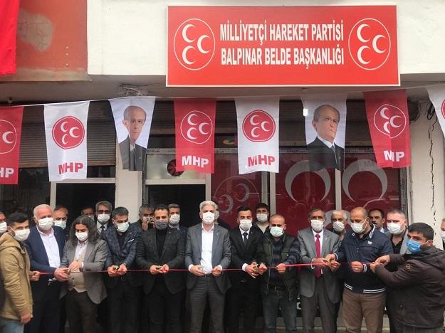MHP'DEN BALPINAR'DA GÖRKEMLİ AÇILIŞ