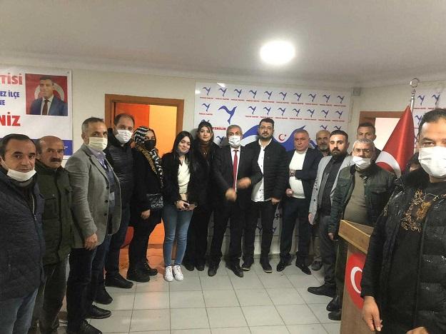 Yenilik Partisi Hasankeyf ilçe başkanı belli oldu