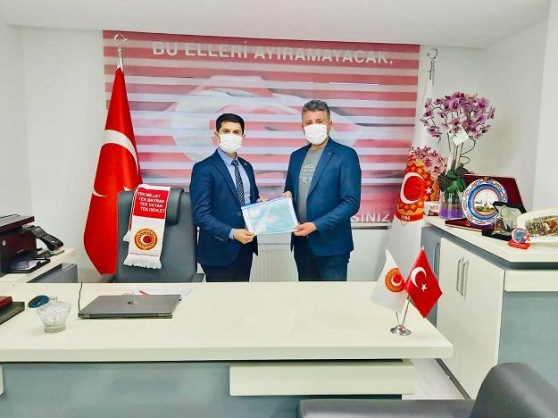 UĞUR KAFALI, TÜGŞAV'I ZİYARET ETTİ
