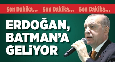 10 KASIM'DA BATMAN'A GELİYOR