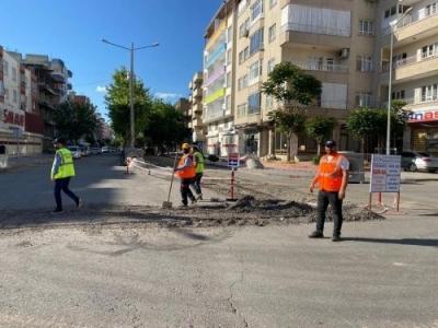 5 mahallede altyapı yenileme çalışması başladı