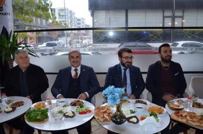 AK Parti Yönetimi Gençlerle Buluştu