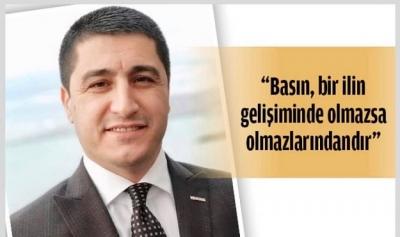"""""""BASIN EMEKÇİLERİNİ KUTLUYORUM"""""""
