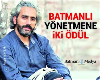 Batmanlı yönetmene iki ödül