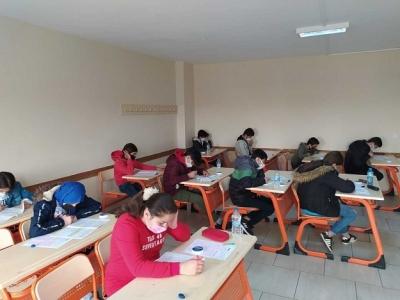 Boğaziçi Koleji'nin Bursluluk Sınavı Yoğun İlgi Gördü