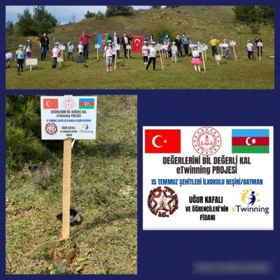Bursa'dan Beşiri 15 Temmuz'a Fidan Jesti