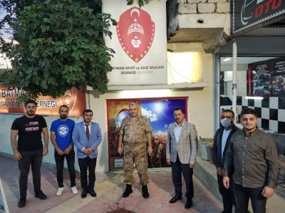 ÇAKMAK'tan BAŞGAD'a ziyaret