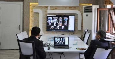 Dijital pandemi toplantısı