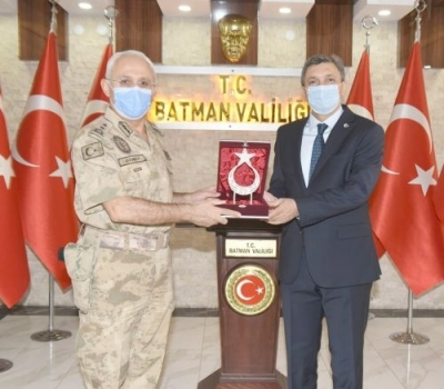 Diyarbakır Jandarma Bölge Komutanı Batmandaydı