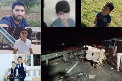 Feci kazada hayatını kaybedenleri kimlikleri belirlendi
