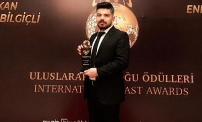 Gazeteci Aziz Karataş'a ödül