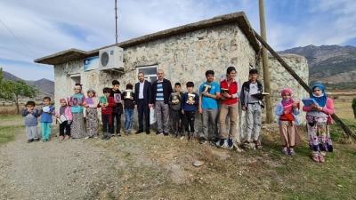 GAZİ'DEN ÇOCUKLARA KUR'ANI KERİM