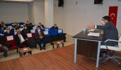 Hasankeyf'te yatırım koordinasyon toplantısı
