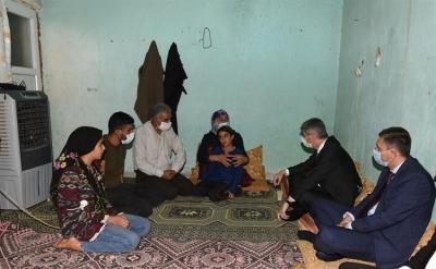 İçişleri Bakan Yardımcısı Muhterem İnce, Er Ailesine Taziye Ziyaretinde Bulundu