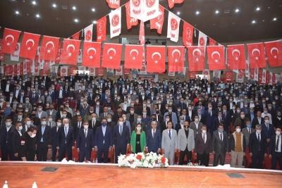 MHP'DEN MİTİNG GİBİ KONGRE