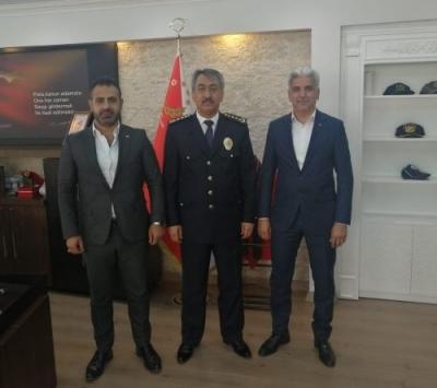 MHP'den polis haftası ziyareti