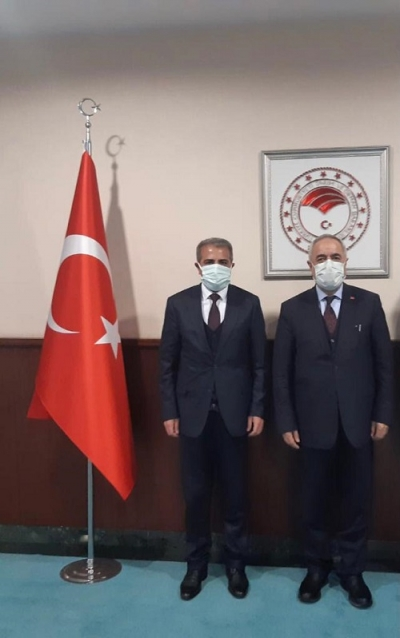 ÖNER'DEN IPARD DESTEĞİ İÇİN BAKAN'A ZİYARET