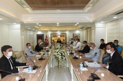 Orman Yangınları ile Mücadele Komisyonu Toplantısı Gerçekleştirildi