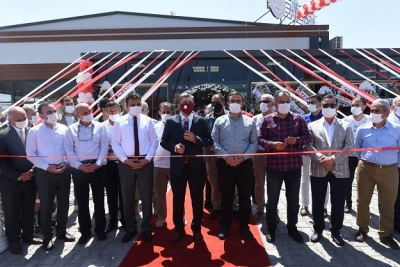OSB Çarşısında İlk İş Yeri Hizmete Açıldı