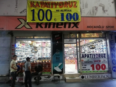 PATRON ÇILDIRDI, HERŞEY 100 TL