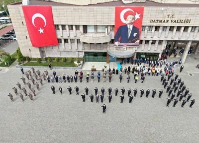 POLİS HAFTASI KUTLAMALARI RENKLİ GEÇTİ