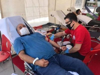 Şemsiyeli Sokak Derneği'nden kan bağışı