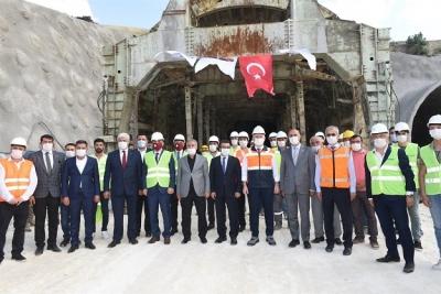 Ulaştırma ve Altyapı Bakanı Adil Karaismailoğlu İlimiz Ziyaret Etti
