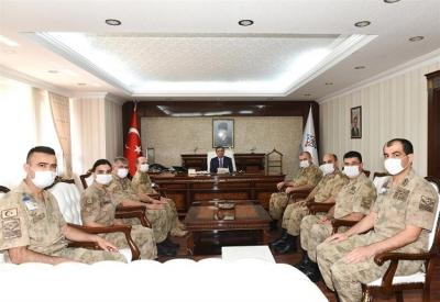 Valimize, Jandarma Teşkilatının 181. Kuruluş Yıldönümü ziyareti