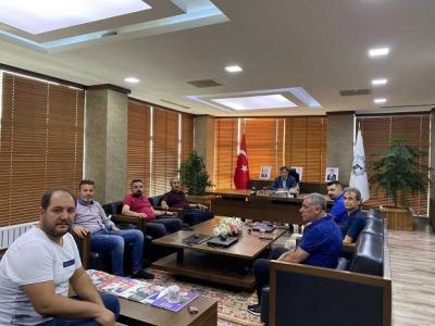 Yenilik Partisi İl Teşkilatından BATSO'ya Ziyaret